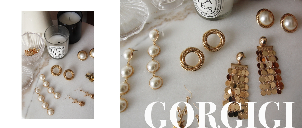 Statement earrings collection from ShopGorgigi